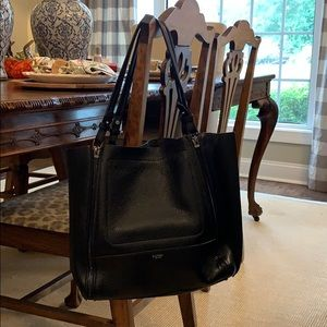 Botkier black pebbled tote